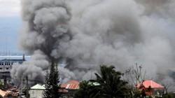 Tổng thống Philippines muốn ném bom rải thảm, san phẳng Marawi diệt IS