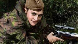 """3 nữ xạ thủ """"tử thần"""" Liên Xô gieo kinh hoàng cho quân Đức"""