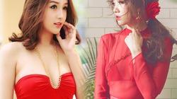 """Mai Phương Thúy, Hari Won """"ăn điểm"""" với váy đỏ thấu da, cắt cúp"""
