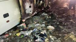 Xe giường nằm bốc cháy trong đêm, 45 người may mắn thoát chết