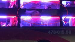 Xe khách bị ném đá vỡ kính trong đêm, hành khách hoảng loạn