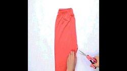 Biến quần thun rẻ tiền mặc ở nhà thành áo sành điệu