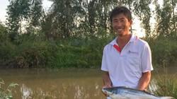 Nuôi 3.000 con cá sợ bùn, sau 12 tháng, cứ mỗi con lãi 100.000 đồng