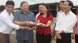 Chủ tịch Hội NDVN Thào Xuân Sùng thăm mô hình nuôi vịt thu 3-5 triệu/ngày