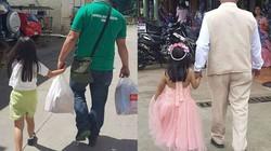 Xúc động mẹ chụp ảnh bố và con gái suốt 4 năm