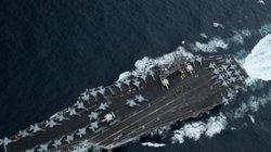 """Tàu Liêu Ninh tập trận, Mỹ điều tàu sân bay đến """"nắn gân"""""""