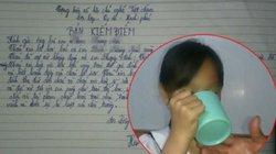 Phạt nữ sinh uống nước giẻ lau bảng: Có dấu hiệu làm nhục người khác