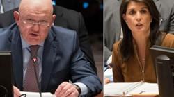 Nga – Mỹ lại đấu khẩu vì Syria