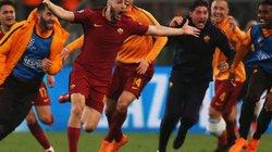 Tạo địa chấn trước Barcelona, AS Roma đi vào lịch sử Châu Âu