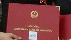 Hiệu trưởng ĐH trần tình việc xác nhận sai hồ sơ ứng viên giáo sư