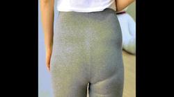 Làm mất mỡ lồi lõm vì quần quá chật bằng tất rách