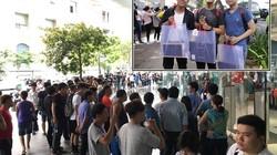 Văn hóa xếp hàng mua giày hiệu của giới trẻ Việt