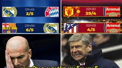 """ẢNH CHẾ BÓNG ĐÁ (14.4): Real """"khốn khổ"""" cùng Arsenal, Neymar ham chơi"""