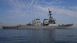 Đô đốc Nga dọa đánh chìm tàu khu trục Mỹ ngoài khơi Syria
