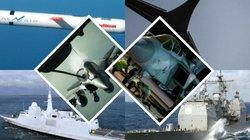 Điểm mặt dàn vũ khí Mỹ-Anh-Pháp dùng để tấn công Syria