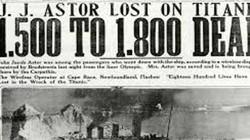 Hơn 1.500 người chết trong thảm kịch ám ảnh nhất thế giới