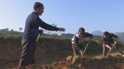 Ông già người Mông Nghệ An lên đỉnh núi đào ao thả cá