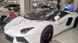 Lamborghini Aventador mui trần 40 tỷ chuyển hộ khẩu vào Sài Gòn