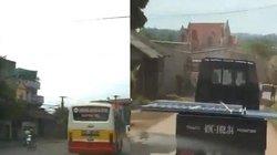 """Clip hot tổng hợp: Xe buýt """"đi đua"""", xe tải như máy chém trên phố"""