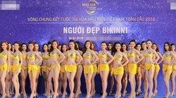 """Hoa hậu Biển Việt Nam toàn cầu 2018: Dừng chung kết là tin """"lá cải"""""""
