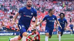 """Clip: Giroud """"nổ súng"""", Chelsea vào chung kết FA Cup gặp M.U"""