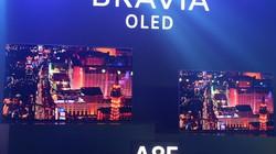 """Sony giới thiệu TV OLED A8F đi kèm công nghệ âm thanh """"kịch độc"""""""