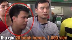 Clip: Mật phục bắt đối tượng giấu 20 bánh heroin trong cốp ôtô