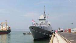 Cận cảnh khinh hạm hiện đại nhất Hải quân Singapore vừa tới Đà Nẵng