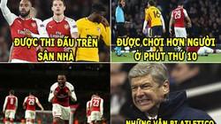 """ẢNH CHẾ BÓNG ĐÁ (27.4): Arsenal mất điểm cay đắng, M.U gặp """"thánh ám"""""""