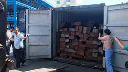 """Bí mật """"khủng"""" trong thùng hàng container tại cảng ở Sài Gòn"""