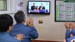 Tù nhân Hàn Quốc xem trực tiếp cuộc gặp liên Triều trong trại giam