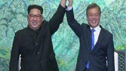 Thắng lợi lớn của Kim Jong-un khi gặp Moon Jae-in