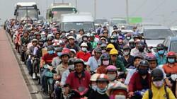 Hàng nghìn người rời thành phố đi nghỉ lễ, cửa ngõ Sài Gòn người, xe như nêm