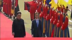 Xem cách Tổng thống Hàn Quốc đón tiếp Kim Jong-un ở Bàn Môn Điếm