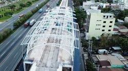 """Ngắm nhà ga """"khủng"""" trên cao của đường sắt đô thị đầu tiên ở Sài Gòn"""