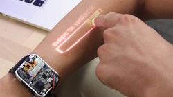 Lạ mắt smartwatch biến cánh tay thành màn hình cảm ứng
