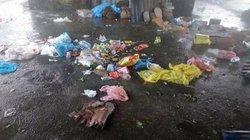 Sau kỳ nghỉ lễ, khu du lịch Mẫu Sơn ngập ngụa rác