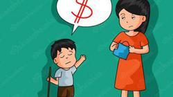 Có nên trả tiền khi con làm việc nhà?
