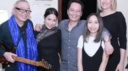 Con gái út tự tin biểu diễn cùng vợ chồng Mỹ Linh - Anh Quân