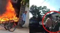 Clip hot tổng hợp: Manh động đánh người, đốt xe vì đỗ trước cửa nhà