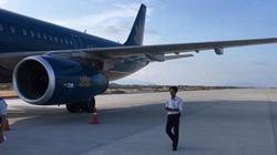 Động cơ số 1 máy bay hạ cánh nhầm tại Cam Ranh bị hư hỏng