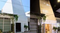 Cắt vát mặt tiền khiến nhà ống ở Nha Trang luôn ngập tràn ánh sáng