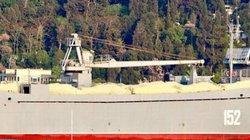 Tàu vận tải quân sự Nga chất đầy vũ khí đến Syria