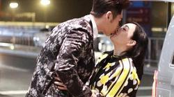 """""""Bom sex gốc Việt"""" Chung Lệ Đề ôm hôn chồng trẻ ngay giữa tâm bão ly hôn"""