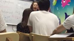 """Clip: Giáo viên tiếng Anh xưng """"mày tao"""", mạt sát học viên giữa lớp"""