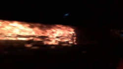 Xe khách Phương Trang bốc cháy trên cao tốc TP.HCM – Trung Lương