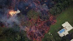 """""""Quái vật"""" Hawaii nuốt hàng chục ngôi nhà, gây hàng trăm trận động đất"""