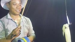 Phóng viên Dân Việt trắng đêm cùng ngư dân câu mực trên biển