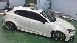 """Cận cảnh gói độ """"thân rộng"""" dành riêng cho Mazda 3 Sedan"""