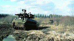 """Xem """"cỗ máy chiến tranh"""" Nga vượt bùn lầy, khai hỏa dữ dội"""